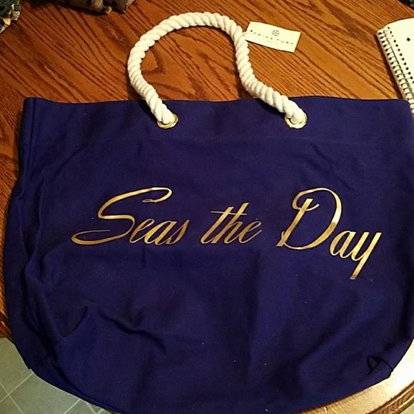 Trina Turk Handbags - NWT Trina Turk Beach Tote - seas the day
